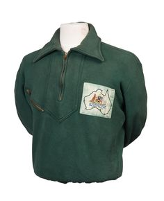 1952 HELSINKI OLYMPICS: Australian tracksuit top & pants, the top with badge…