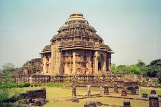 Konark Sun Temple is a 13th-century Sun Temple, at Konark, in Odisha, India. It was supposedly built by king Narasimhadeva I of Eastern Ganga Dynasty around 1250.