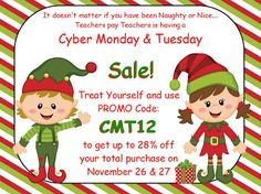 Cyber Monday & Tuesday Sale!
