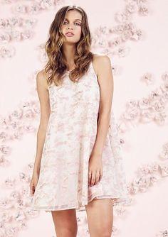 LC Lauren Conrad Runway Collection Fox Print Swing Dress - Women's