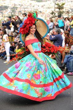 Madeira Flower Festival/Parade/Madeira Island