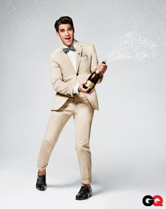 Darren Criss (Warbler Blaine Anderson) of Glee...too cute for words!