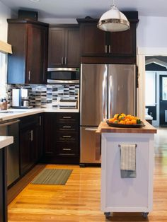 51 Awesome Small Kitchen With Island Designs   Island design ...