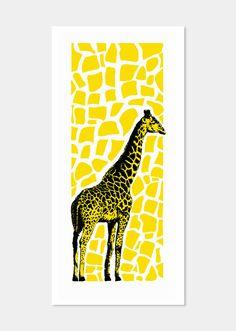 Sam Galison Tungsten Tenement Giraffe Stencil