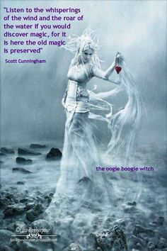 Listen to the whispering wind...quote from Scott Cunningham