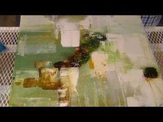 BastelzeitTV 72 - Acrylbild Schnecke mit Strukturpaste und Patina - YouTube