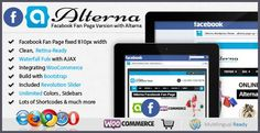 cool Alterna Facebook Fan Page, Wordpress Theme Design, Purpose, Projects