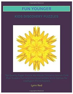 Top Quality Paper Puzzle Workbook Contains Search Find Plus Sudoku Fun and Also Unscramble Word Games for Intelligent Pre Schoolers Unscramble Words, Build Math, Search And Find, Word Search Puzzles, Sudoku Puzzles, Fun Games For Kids, Local Library, Puzzle Books, Memory Games