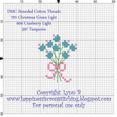 Happiness is Cross Stitching : A finish and another free cross stitch pattern.