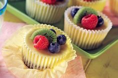 Check out these great PHILADELPHIA mini cheesecakes! The buzz about our PHILADELPHIA Mini Cheesecakes is that they're simple, quick and delicious. What more could you ask from a dessert? Mini Desserts, Mini Cheesecake Recipes, Just Desserts, Delicious Desserts, Dessert Recipes, Yummy Food, Cheesecake Bars, Mini Cheesecakes With Oreos, Southern Desserts