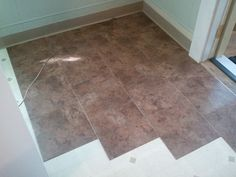 Attrayant Kitchen Floor, Bathroom Floor, Peel N Stick Tiles From My Old Blog
