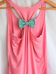 DIY Tanktop from Old T-Shirt | We Heart It
