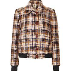 Irish Tweed Skye Bomber Jacket Outerwear