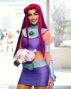 /r/cosplay: for photos, how-tos, tutorials, etc. Cosplayers (Amateur and Professional) and cosplay fans welcome. Teen Titans Cosplay, Dc Cosplay, Star Fire Cosplay, Cosplay Anime, Marvel Cosplay, Cosplay Makeup, Cosplay Outfits, Best Cosplay, Cosplay Girls