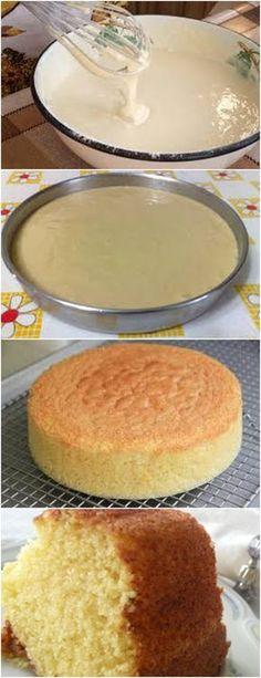 BOLO TRADICIONAL DE LIQUIDIFICADOR!! VEJA AQUI>>>Bata no liquidificador os ovos, o açúcar e a margarina Depois acrescente a farinha, o leite e o fermento em pó, bata novamente #receita#bolo#torta#doce#sobremesa#aniversario#pudim#mousse#pave#Cheesecake#chocolate#confeitaria