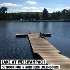 Fun am See in Weiswampach. Welche Freizeitaktivitäten es außer baden dort noch gibt!? Mehr dazu auf http://www.rosportlife.com