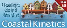 Coastal Kinetic Folk Art