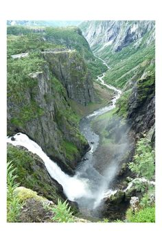 Vøringsfossen in Norway Elba, Norway, The Good Place, River, Waterfalls, World, Amazing, Outdoor, Spaces