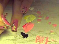 One stroke - Pointes roses et jaunes - Vidéo