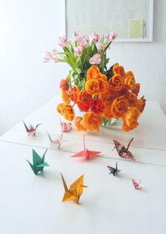 Die schönsten Origami Ideen zum Selbermachen #origami #doityourself #diy #diyideas #origamibirds #diydecoration