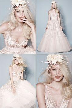 Bridal portrait in studio   Creative styling