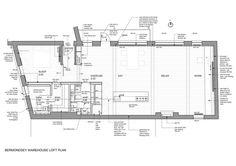 Bermondsey Warehouse Loft Apartment,Floor Plan