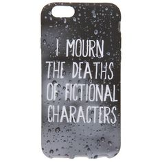 Fictional Characters iPhone 6 Case Hot Topic (£6.60) ❤ liked on Polyvore featuring accessories, tech accessories, phone cases, phone, hot topic and phonecase