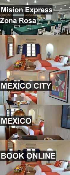 Hotel Mision Express Zona Rosa in Mexico City, Mexico. For more information, photos, reviews and best prices please follow the link. #Mexico #MexicoCity #travel #vacation #hotel