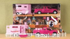 Big Time Rodeo Cowgirl Toy Truck & Horse Rodeo Set by M Western Products, http://www.amazon.com/dp/B0049XYY4M/ref=cm_sw_r_pi_dp_mlElqb10APB9X
