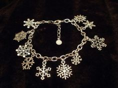 Snowflake Charm Bracelet for a special unique snowflake by punqd - StyleSays
