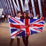 Louis Tomlinson of One Direction Enjoys the Olympics With Girlfriend Eleanor Calder
