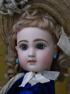 ~~~ Beautiful French Bisque Bebe by Jumeau , Tete Model Size 9 ~~~ from whendreamscometrue on Ruby Lane