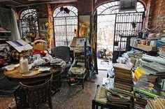 """""""Libreria Acqua Alta"""" in Venice..."""