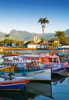 Paraty, RJ, Brazil Brazil Travel, Us Travel, Rome, Tokyo, Holiday Places, South America Travel, Vacation Trips, Where To Go, Places To Go