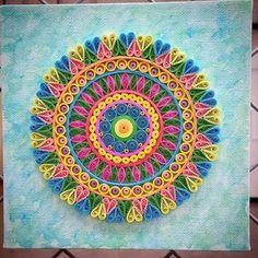 Mandala + Quilling