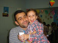 Irmão Fernando e sua filinha