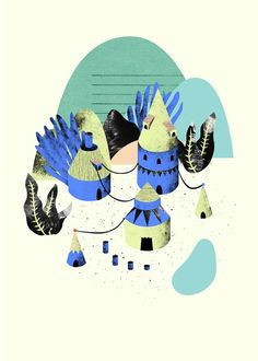 Noémie Cédille - noemiecedille.fr Simple Illustration, Digital Illustration, Graphic Illustration, Sketchbook Inspiration, Reference Images, Illustrations And Posters, Arrow Keys, Close Image, Graphic Design Inspiration