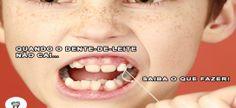 Quando o Dente-de-leite não cai… — SAIBA O QUE FAZER!