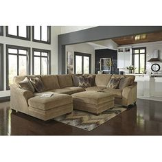 Signature Design by Ashley Sectional & Reviews | Wayfair