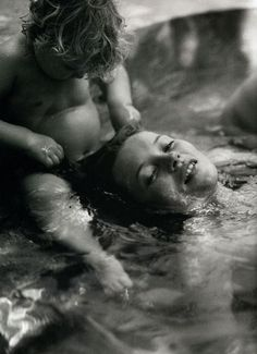 Kate Moss by Bruce Weber for Joe's Magazine, November 1998 | underwater | captured | beautiful | www.republicofyou...