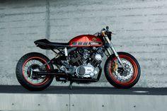 Tangerine Dream: Roland Snel's Yamaha TR1 cafe racer | Bike EXIF