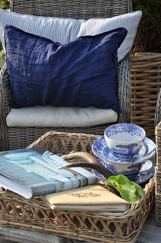 Perfect spot to unwind and relax with a good book and a cup of tea. The Little Corner
