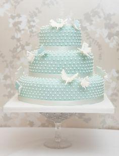 Swiss Dot Layer Cake