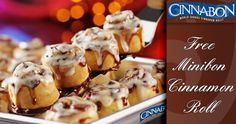 Join the Club CINNABON and get a taste of the sweet life with a coupon good for one FREE Minibon cinnamon roll at participating bakeries!