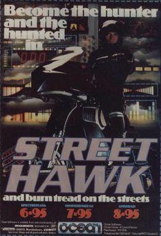 Street Hawk video game