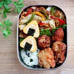 Easy Japanese Recipes, Asian Recipes, Bento, I Want Food, Slow Food, Sushi, Aesthetic Food, Food Menu, Food Dishes