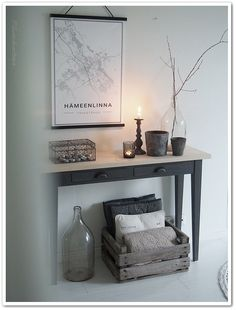 Decor, Furniture, Table, Entryway Tables, Home Decor, Entryway, Entryway Bench
