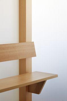 Image 8 of 12 from gallery of Kashikoto Monakaya / Wataru Kumano. Photograph by Sohei Oya Modern Rustic Furniture, Unique Furniture, Furniture Design, Interior Architecture, Interior And Exterior, Interior Design, Warehouse Design, Console, Muebles Living