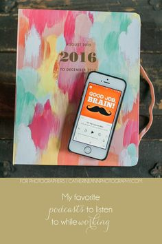 My favorite podcasts to listen to while working | Charleston SC Wedding Photographers
