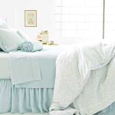Pine Cone Hill Genevieve Sky Duvet Cover
